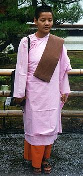 Nonne birmane Bouddhisme au feminin